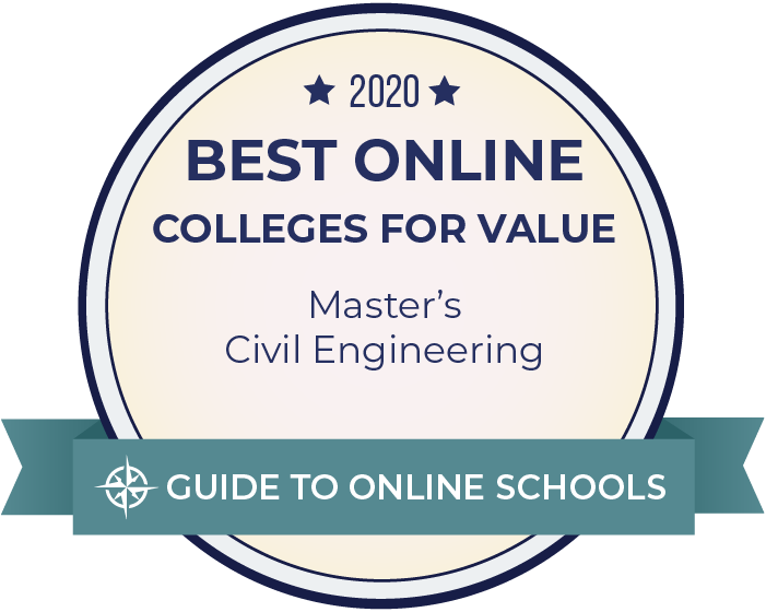 2019 Best Online Colleges Offering a Master's in Civil Engineering