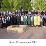 Graduation Picture Spring 2004
