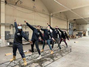 Steel Bridge Team members