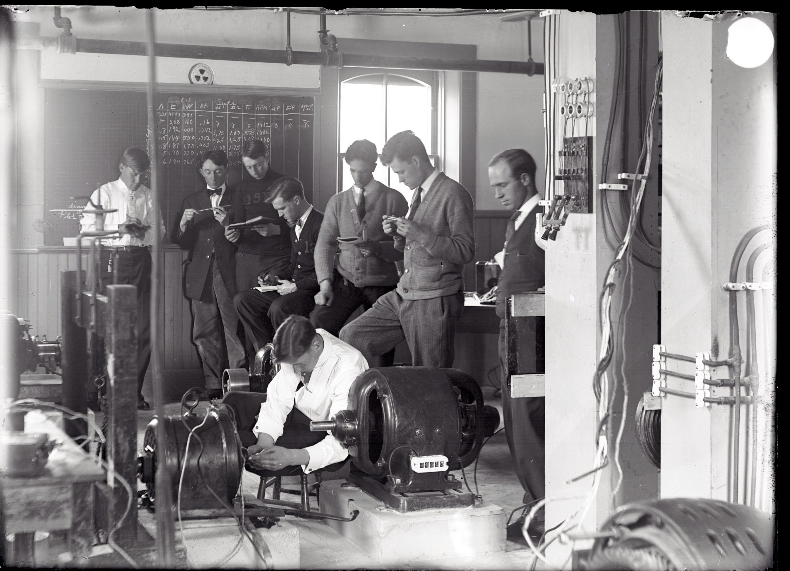 Electrical Testing Lab, 1912