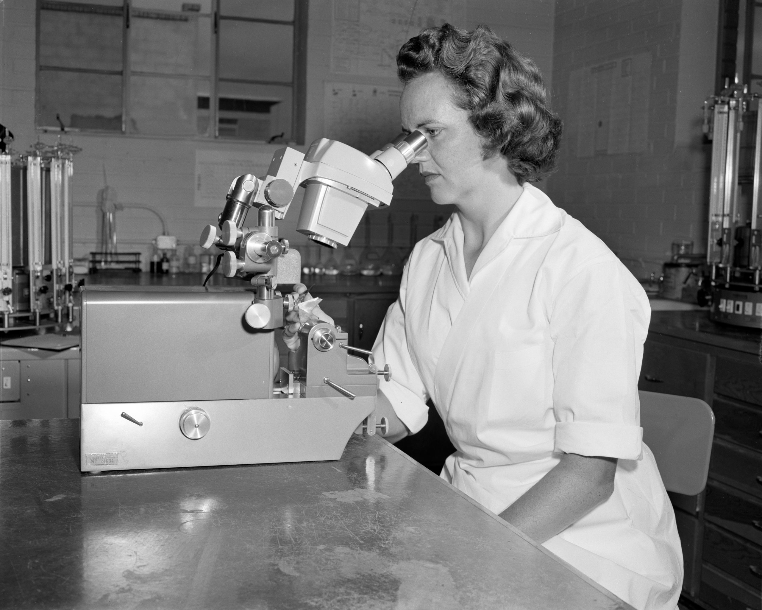 New machines in Veterinary Physiology for Colorado State University Research Foundation July 1959