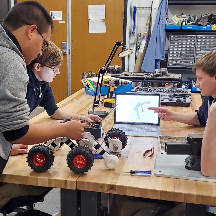 CSU Aerospace Engineering students