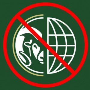 Non-compliant sample version of CSU Rams logo