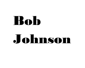 Bob Johnson Logo