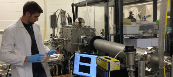 Research Test Chamber to study co-sublimation of ternary alloys