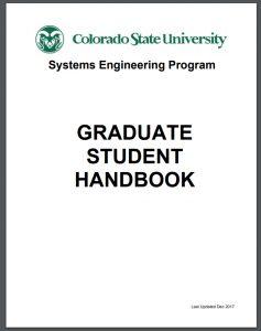 SE graduate student handbook