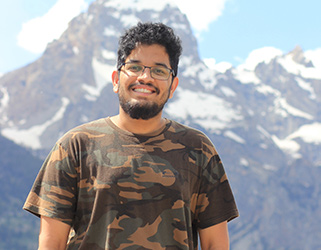 Computer engineering graduate student Ram Rohit will be interning with Tesla in Spring 2021.