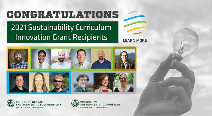 SOGES Sustainability Curriculum Innovation Grant Recipients
