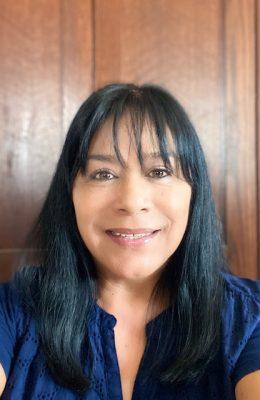 Indoor portrait of Mary Gomez