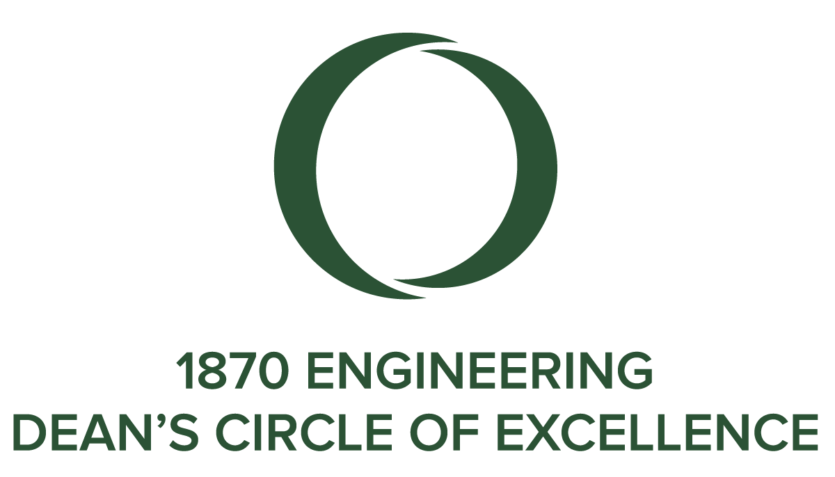 1870 Engineering Dean's Circle of Excellence
