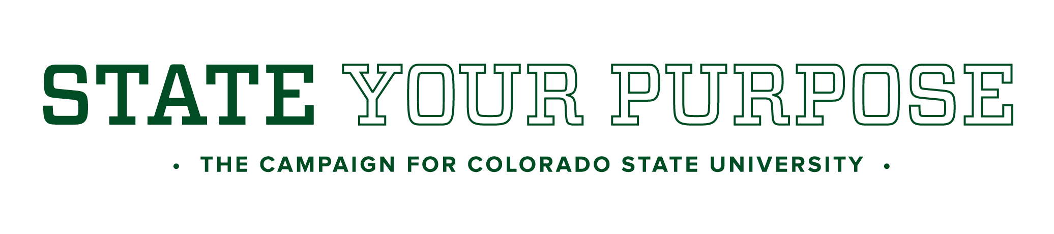 State Your Purpose Campaign for CSU