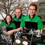 Vehicle senior design team
