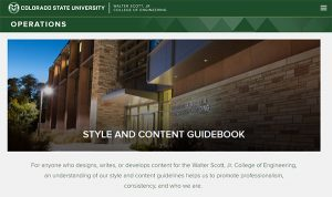 WSCOE Style and Content Guidebook