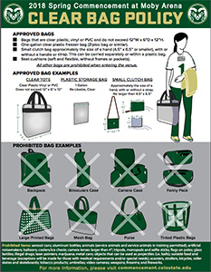 CSU clear bag policy