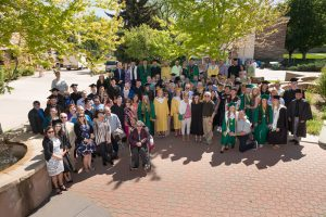 Commencement at Colorado State University . May 12, 2017