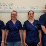 Senior Design team in the CSU School of Biomedical Engineering