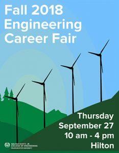 Engineering Career Fair Fall 2018 Cover
