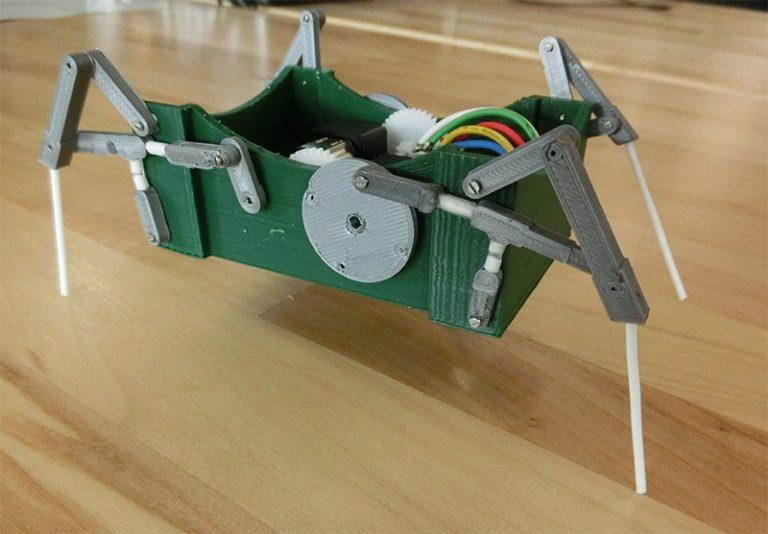 Jianguo Zhao develops small, biologically inspired adaptive robots
