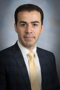 Mostafa Yourdkhani, assistant professor, Department of Mechanical Engineering