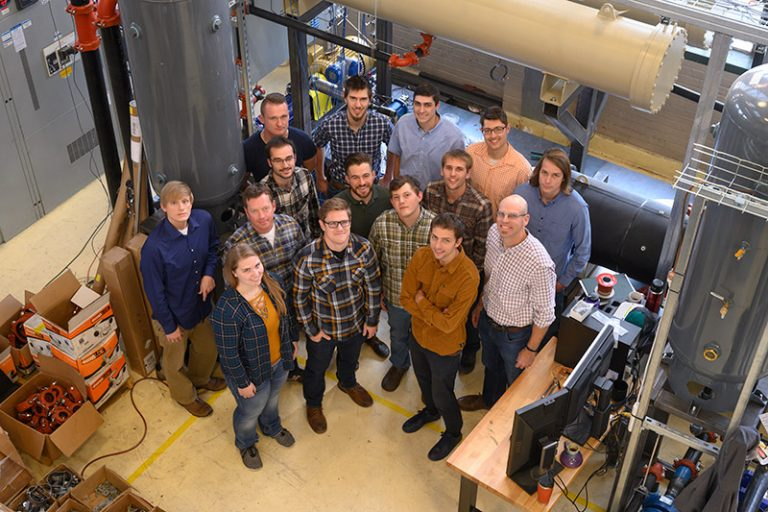 Todd Bandhauer and his research team.