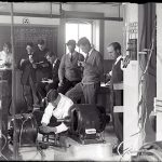 A view an an early electrical lab 1912