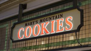 Mary's Mountain Cookies in Old Town in Fort Collins