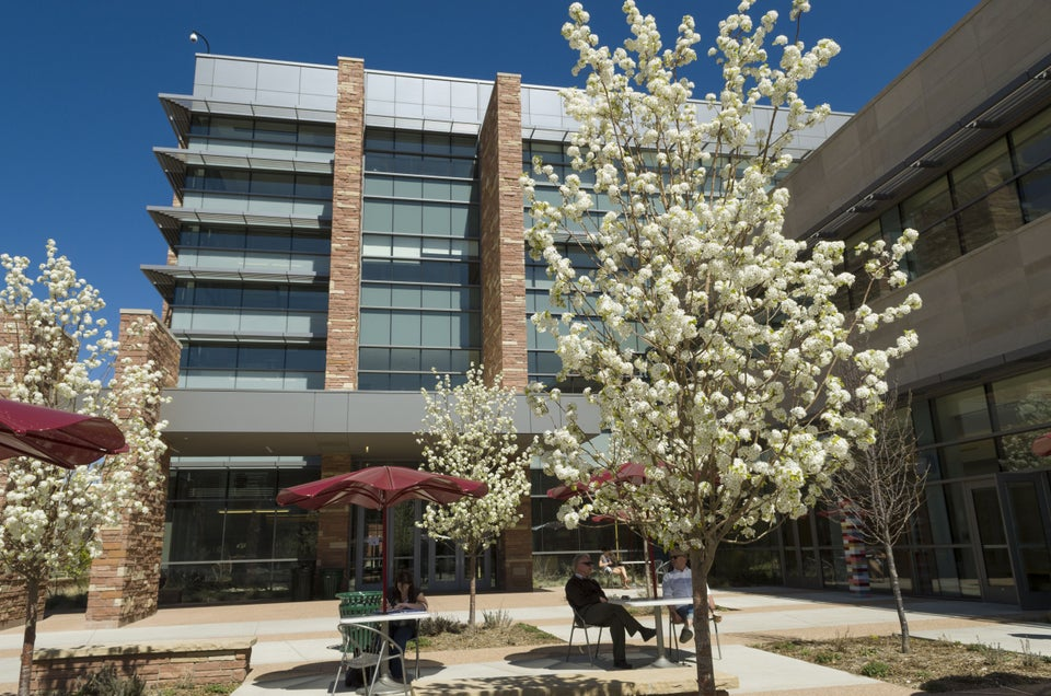 A photo of the Behavioral Sciences Building on CSU's campus
