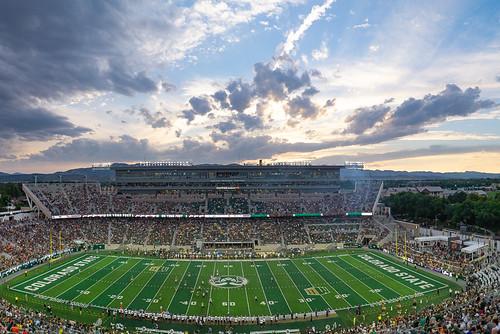 A panoramic of Canvas Stadium