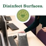 Covid-19 CSU notice: Disinfect surfaces