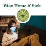 Covid-19 CSU notice: Stay home if sick