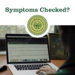 Covid-19 CSU notice: Symptom checker