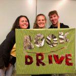 CSU Roraract students book drive