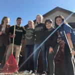 CSU students during Fall Clean-Up