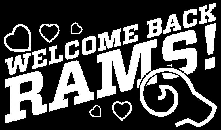Sp2020 Welcome back Rams art