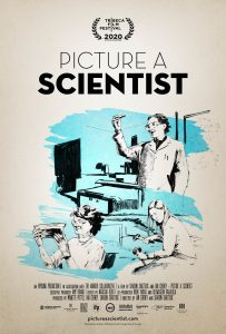 Picture A Scientist Poster art