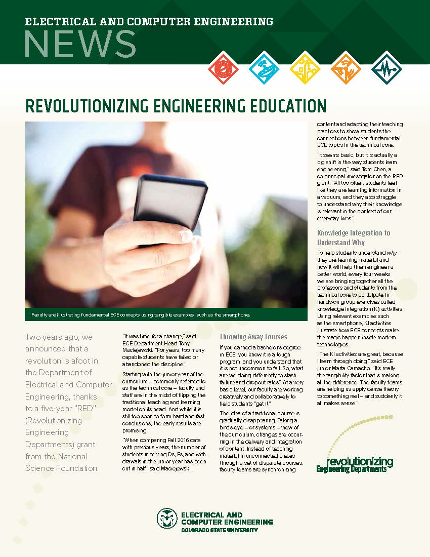 ECE Newsletters - Electrical and Computer Engineering - College of Engineering - Colorado State ...