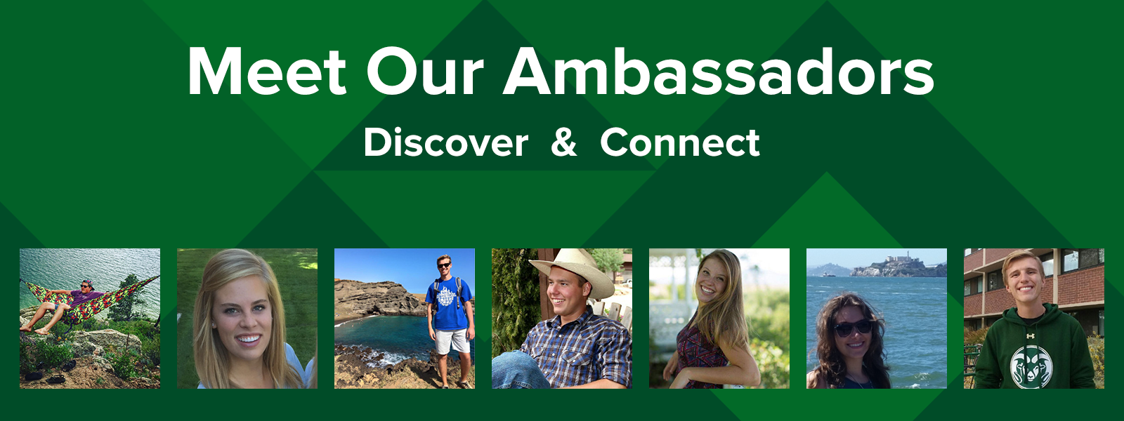 Meet Our Ambassadors: Discover and Connect