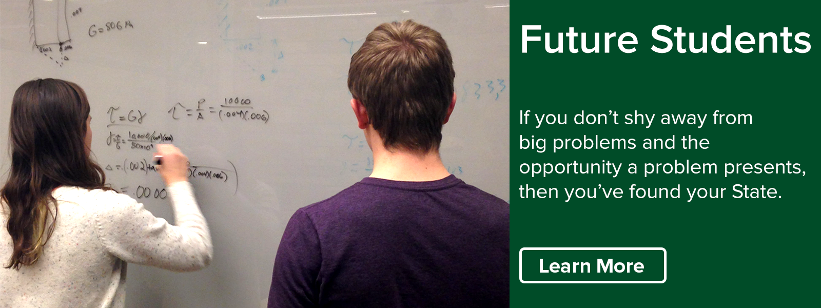 Find your State in the College of Engineering and learn about the student experience.